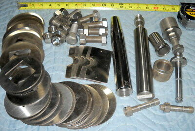 20lbs 5oz Stainless Scrap Nuts Bolts Rounds Dairy Maintennance Parts Sheet Shims