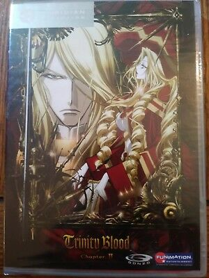 Trinity Blood - Chapter 2 (DVD, The Viridian Collection) Episodes 5-8. NEW/SEALE