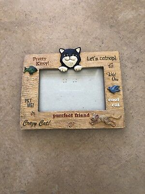 Cat Decor Picture Frame
