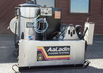 Used Aaladin 4530-D DIESEL ENGINE 5GPM@3000PSI Hot Water Pressure Washer