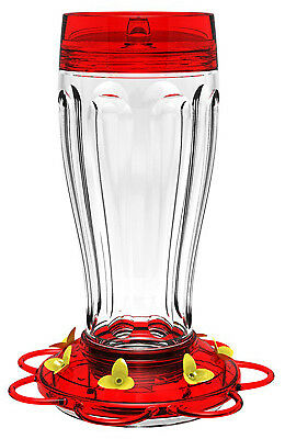 Classic Brands 41 Big Gulp Hummingbird Feeder, Glass Bottle, 40-oz. - Quantity 1