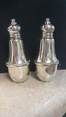 Sterling Silver Salt and Pepper Shakers Duchin