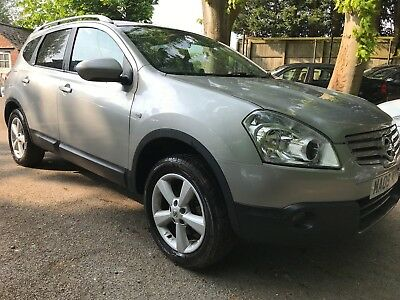 2009 09 Nissan Qashqai +2 1.6 Acenta 64000 Miles From New Direct Finance House