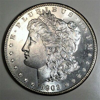 1903-O Morgan Silver Dollar Beautiful Uncirculated Coin Rare Date