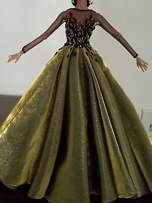 OOAK intricateted Fashion royalty ball gown
