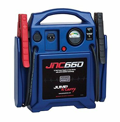 Jump-N-Carry JNC660 1700 Peak Amp 12-Volt Jump Starter with Bag