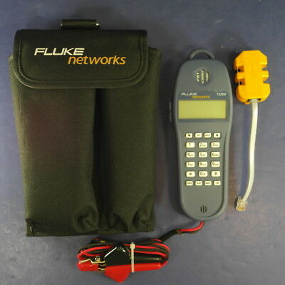 New Fluke TS25D Test Set, Excellent, with Banjo-4 and soft Case