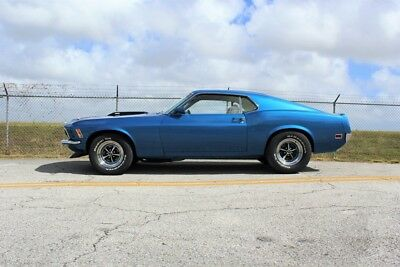 Mach 1  1970 Mustang Mach 1  88,142 Miles Bright Blue Metallic Paint Coupe 351-4V Engine
