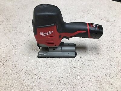 Milwaukee cordless Jigsaw 12V, with one M12 Battery, charging port NOT included