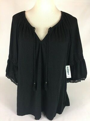 Old Navy Crinkle-Jersey Bell-Sleeve Top for Women Size S And L - New with Tags!