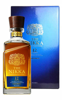 Nikka 12 Year Old Blended Japanese Whisky (700ml) Gift Boxed
