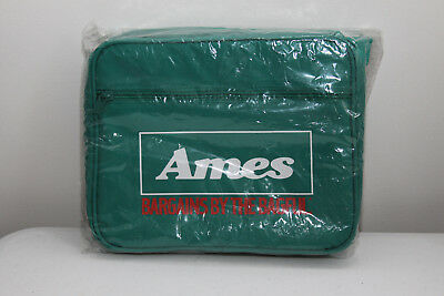 NOS Vintage AMES DEPARTMENT STORE Bargains By The Bagful Lunch Bag Cooler - NEW
