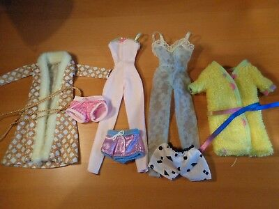 Fashion Royalty: small lot of Barbie nightwear items - fit NuFace and FR dolls