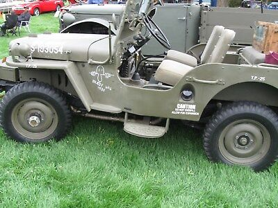 "1948 Willys CJ2A  48 Willys CJ2A "" tribute"" Complete Ground up Restored.very low mileage WOW LQQK"