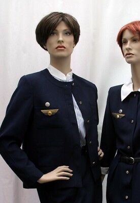 Vintage CARVEN HOSTESS JACKET for AIR France Size 40 Mint Condition