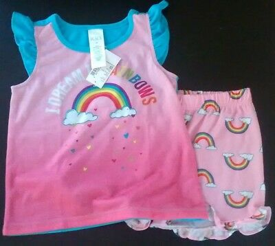 NEW The Children's Place Toddler Girls' PJ 2PC Set, 3T