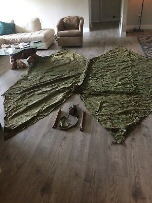 WWII US Marine Half Shelter X 2 Dated 1943