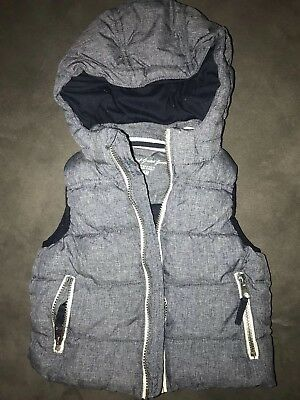 Kids Size 3 H & M Hooded Puffer Vest
