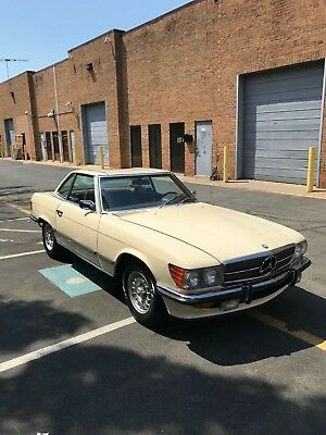 1972 Mercedes-Benz SL-Class 350 SL 1972 Mercedes-Benz 350sl convertible Euro European Spec