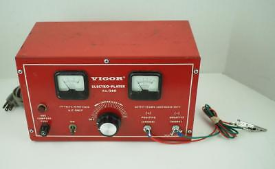 Vintage Vigor PM260 10 Amp Electro-Plater Quality Made In The USA