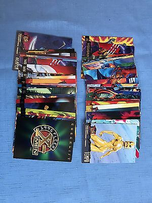 1995 Fleer Ultra X-Men Plus 3 Hunter & Stalkers. Plus 1995 X-Men Suspen/Animated