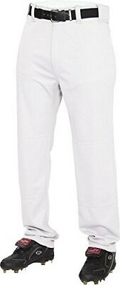 (X-Small, White) - Rawlings Youth Semi-Relaxed Pants. Best Price