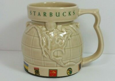 Starbucks globe chubby cream world map travel mug wide bottom mug starbucks globe chubby cream world map travel mug wide bottom mug cup stamps k gumiabroncs Image collections