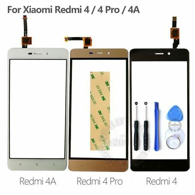 Touch Screen Digitizer Sensor Glass Panel For Xiaomi Redmi 4 / 4 Pro / 4A New