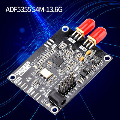 54MHZ-13.6GHZ RF ADF5355 Phase-locked Loop VCO Frequency Synthesizer Board inm