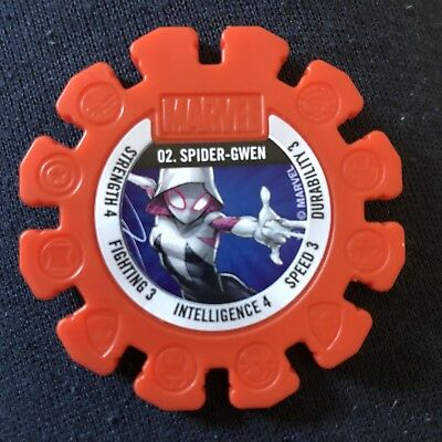 Woolworths Marvel Heroes Tazo Disc #2 Spider-Gwen