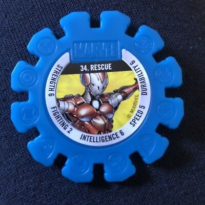 Woolworths Marvel Heroes Tazo Disc #34 Rescue