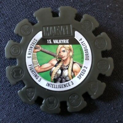 Woolworths Marvel Heroes Tazo Disc #15 Valkyrie
