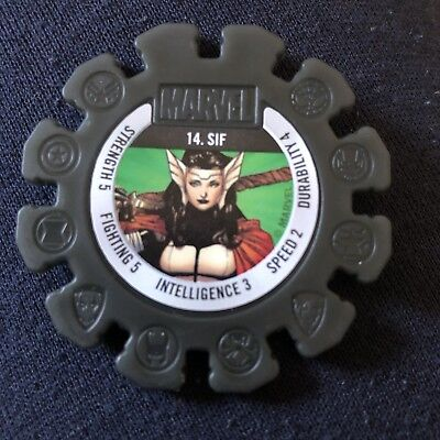 Woolworths Marvel Heroes Tazo Disc #14 Sif