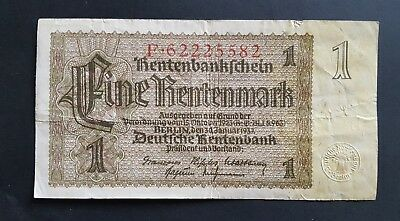 Germany 1 Rentenmark 1937 2