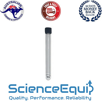 Culture Test Tube Premium Borosilicate Glass ROUND BOTTOM Screw Cap 15ml