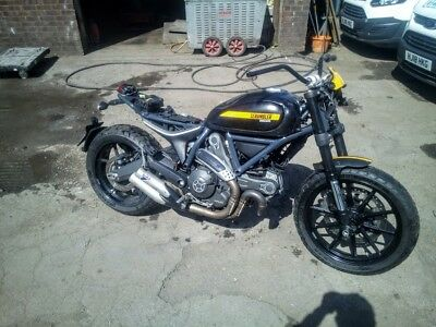 Ducati Scrambler 800 Full throttle 2015  Project/Spares  NO RESERVE RELISTED