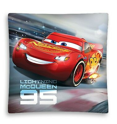 NEW DISNEY CARS 3 Lighting McQueen 95 cushion cover 40x40cm pillow case