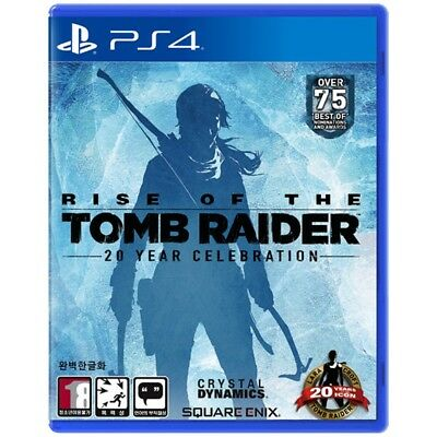 [Brand New] PS4  Rise of the Tomb Raider (Korean Version) 20 Year Celebration