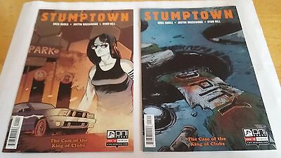 "Greg Rucka: Stumptown ""King Of Clubs"" (Complete, #1-5 set)"