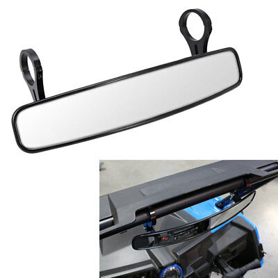 """For Can-Am Commander Maverick 800 1000 UTV 17"""" Wide Rear View Mirror 2"""" Clamp US"""