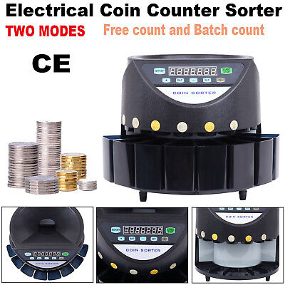 Australian Coin Cash Counter Led Display Automatic Electronic Sorter Machine