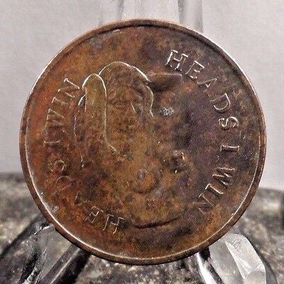"Preowned  ""heads I Win, Tails You Lose"" Token (70617)1"