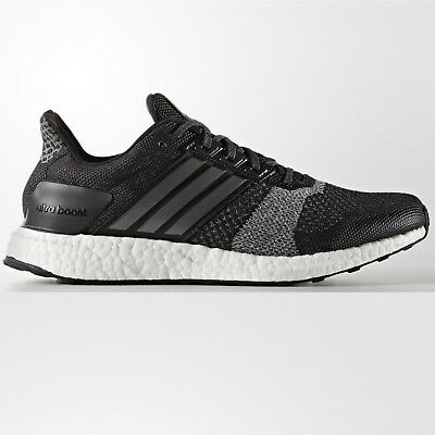 best sneakers b98f0 b7962 ... shop adidas ultra boost st mens black silver structured running shoes  ba7838 1f118 37f63