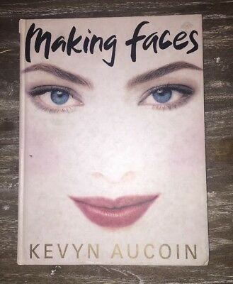 Kevyn Aucoin - Iconic Book - Making Faces  *collectable*