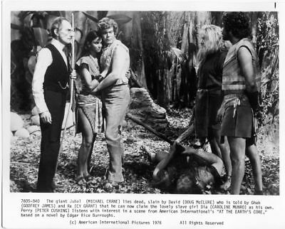AT THE EARTH'S CORE - PETER CUSHING - DOUG McCLURE - VINTAGE PHOTO #6
