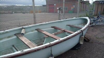ASC (Admiralty Sailing Boat) Fibreglass Hull suitable for sailing/rowing