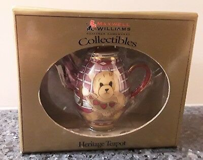 Maxwell Williams Collectibles Heritage Teapot