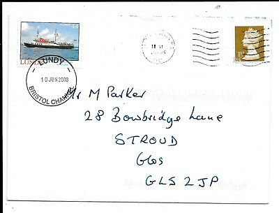 Devon 2008 Commercial Cover Franked Lundy 44 Puffin