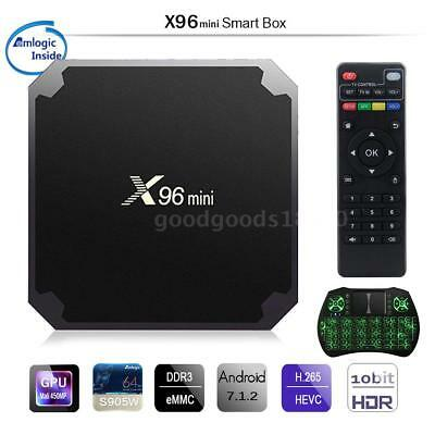 X96 Mini Smart TV Box Android 7.1 Amlogic S905W 1GB 8GB 4K Quad Core WiFi H.265
