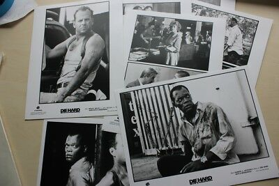 Die Hard With A Vengeance - Bruce Willis - 7 Vintage Press Photos + Envelope